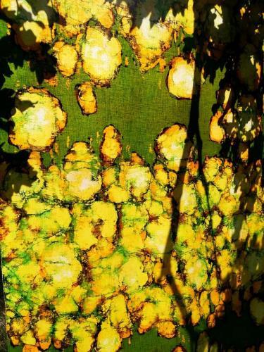august flowers III agnieszka kazała batik b